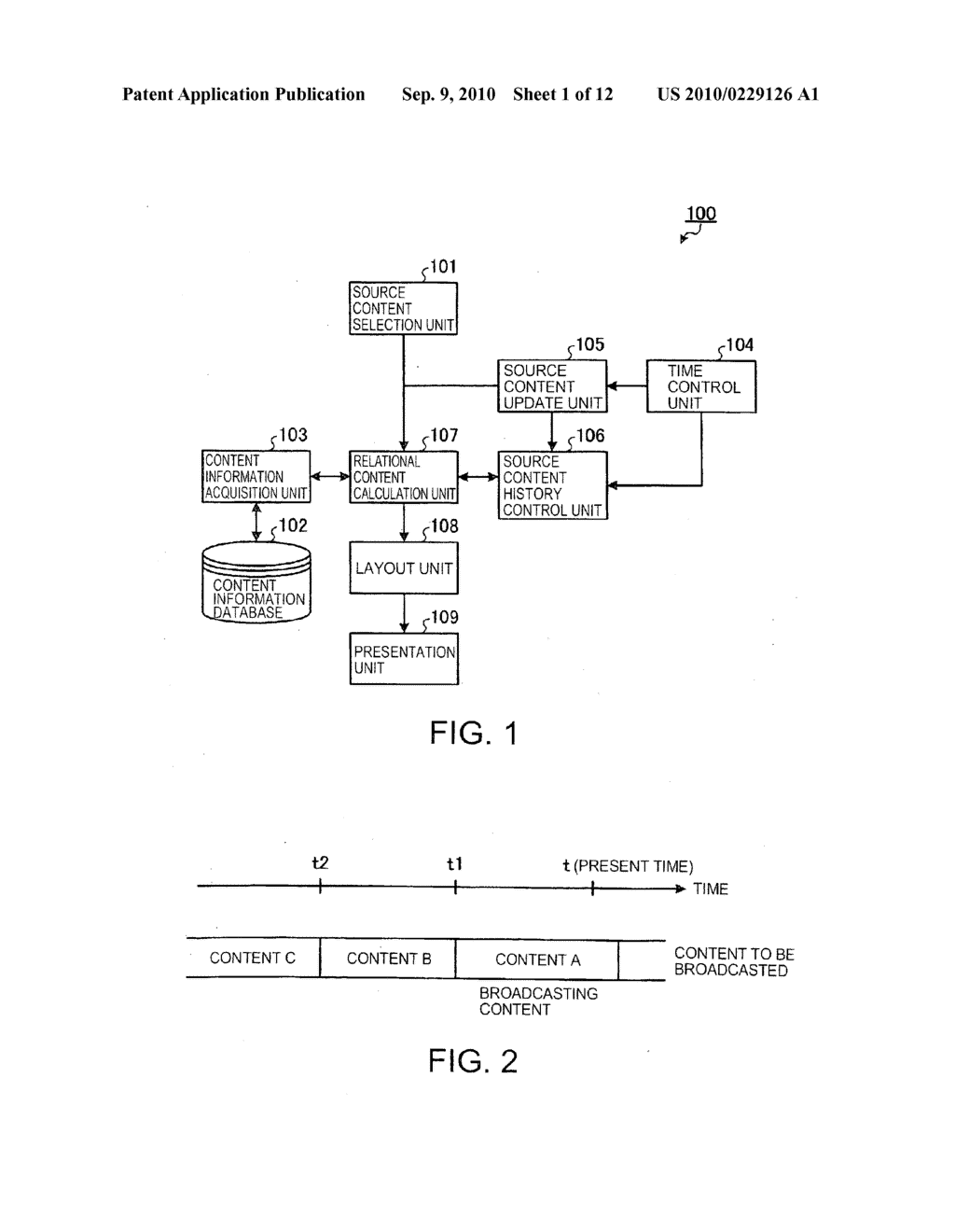 Apparatus and method for presenting contents - diagram, schematic, and image 02
