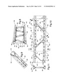 Steel stud with openings and edge formations and method diagram and image