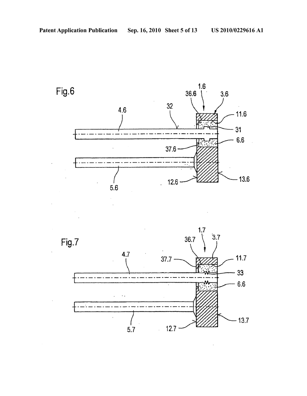 METAL FIXING MATERIAL BUSHING AND METHOD FOR PRODUCING A BASE PLATE OF A METAL FIXING MATERIAL BUSHING - diagram, schematic, and image 06