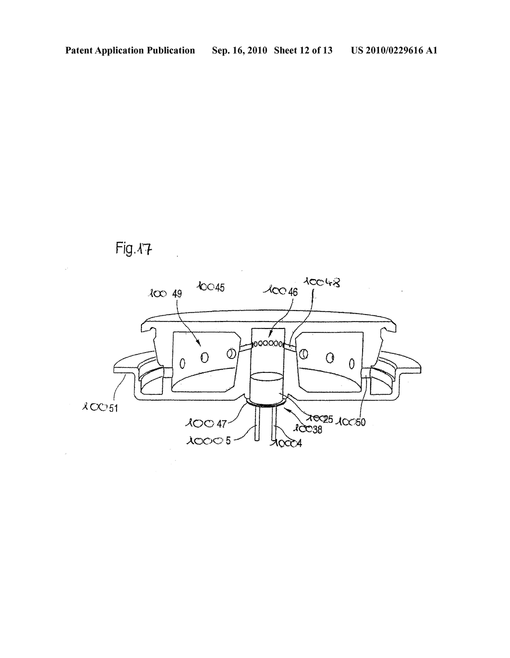 METAL FIXING MATERIAL BUSHING AND METHOD FOR PRODUCING A BASE PLATE OF A METAL FIXING MATERIAL BUSHING - diagram, schematic, and image 13