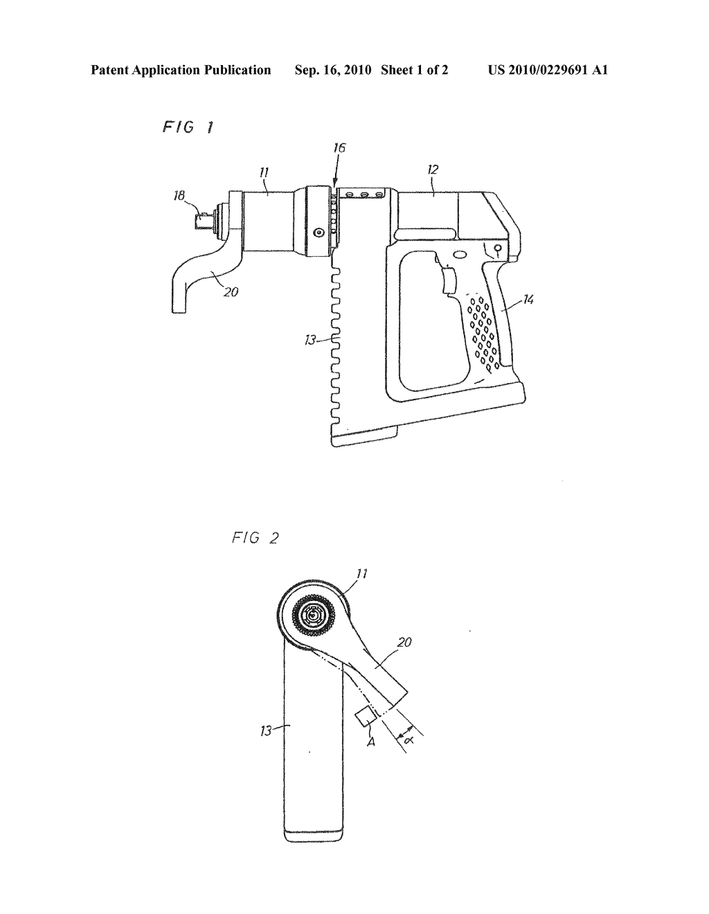 POWER WRENCH WITH REACTION BAR CONTROLLING MEANS - diagram, schematic, and image 02
