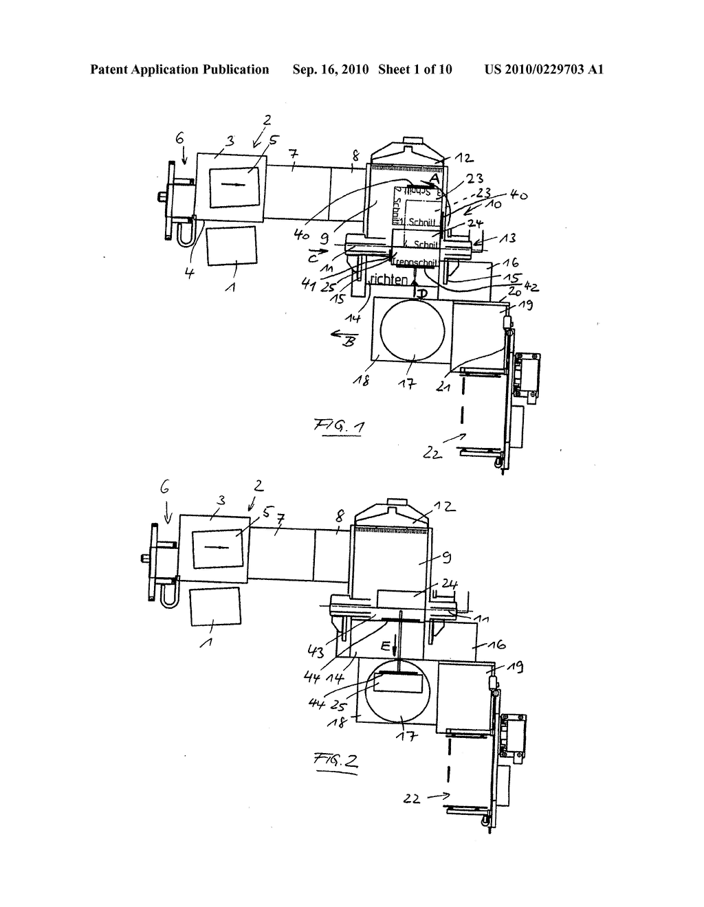 METHOD FOR CUTTING STACKS OF SHEET MATERIAL - diagram, schematic, and image 02