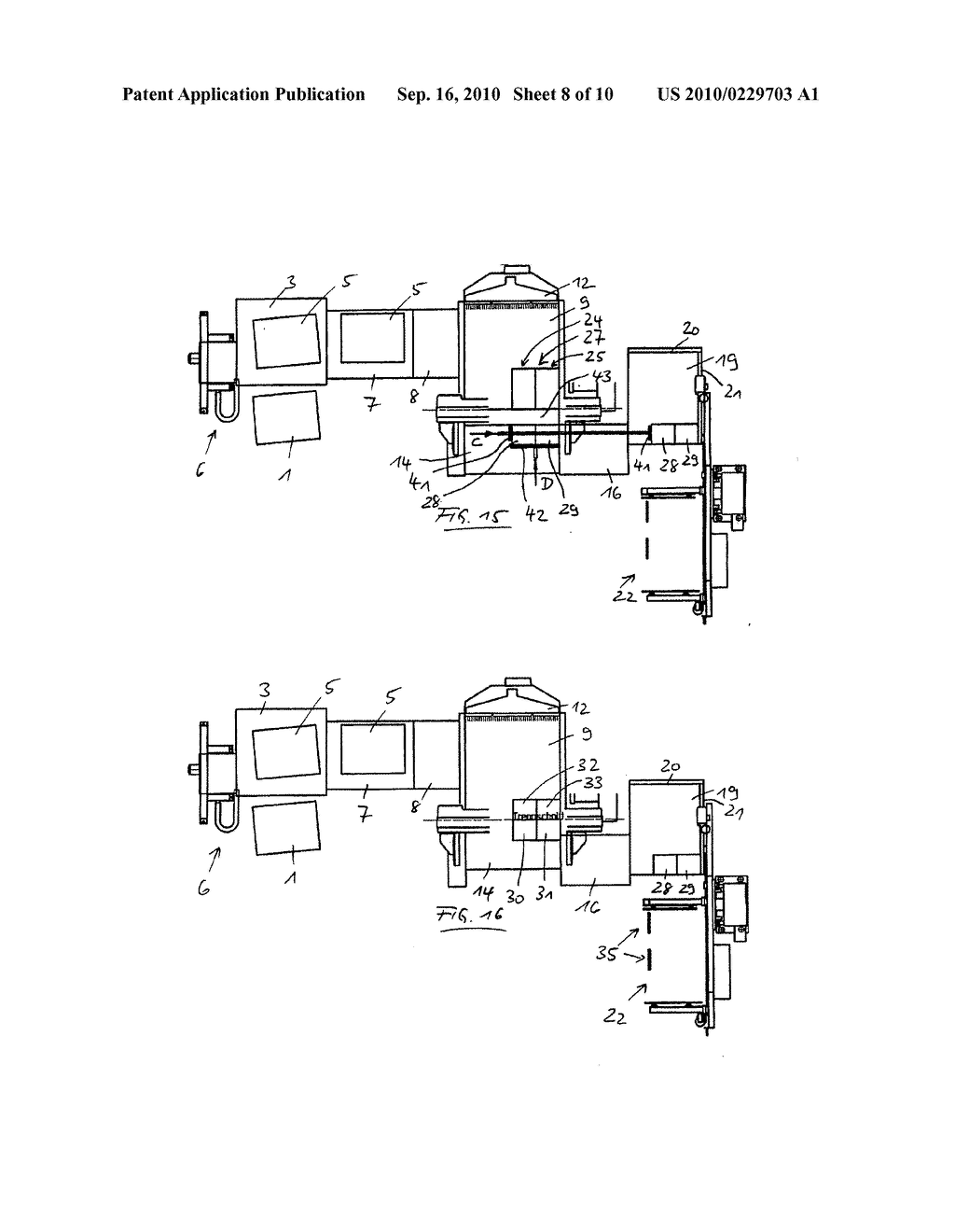METHOD FOR CUTTING STACKS OF SHEET MATERIAL - diagram, schematic, and image 09