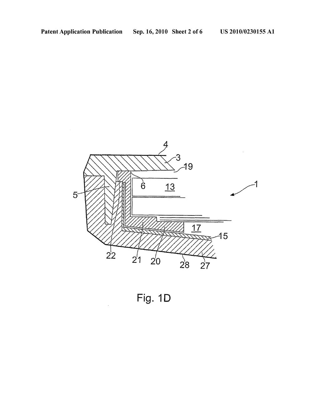 APPARATUS COMPRISING AN ELECTRONICS MODULE AND METHOD OF ASSEMBLING APPARATUS - diagram, schematic, and image 03