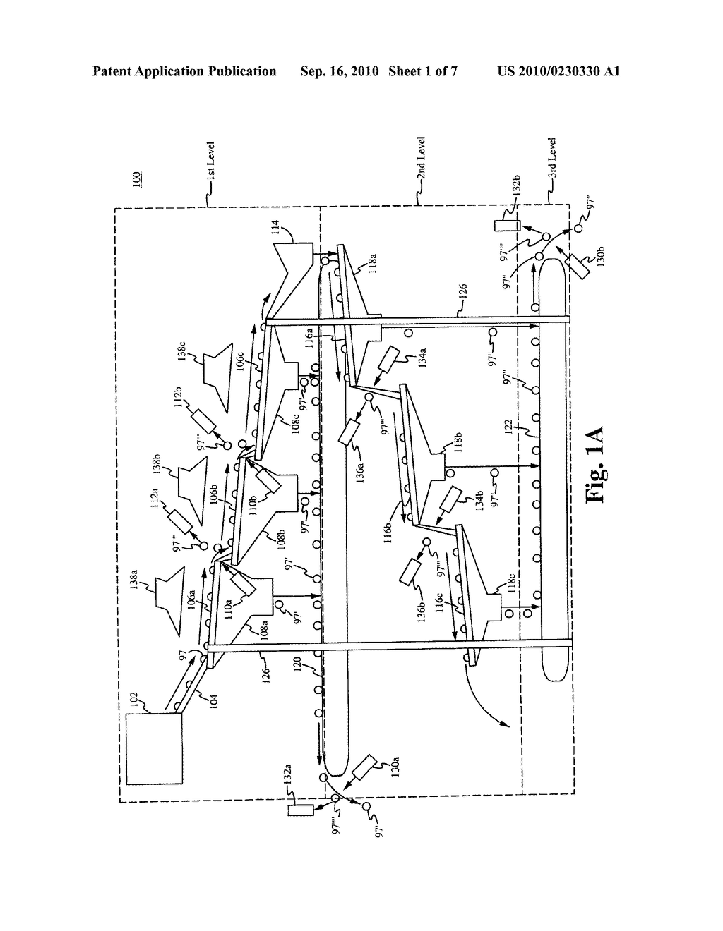 METHOD OF AND APPARATUS FOR THE PRE-PROCESSING OF SINGLE STREAM RECYCLABLE MATERIAL FOR SORTING - diagram, schematic, and image 02
