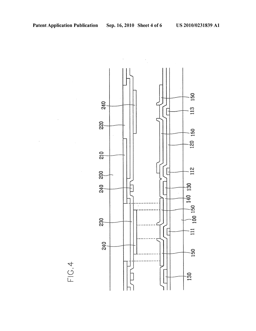 LIQUID CRYSTAL DISPLAY AND SUBSTRATE THEREOF - diagram, schematic, and image 05