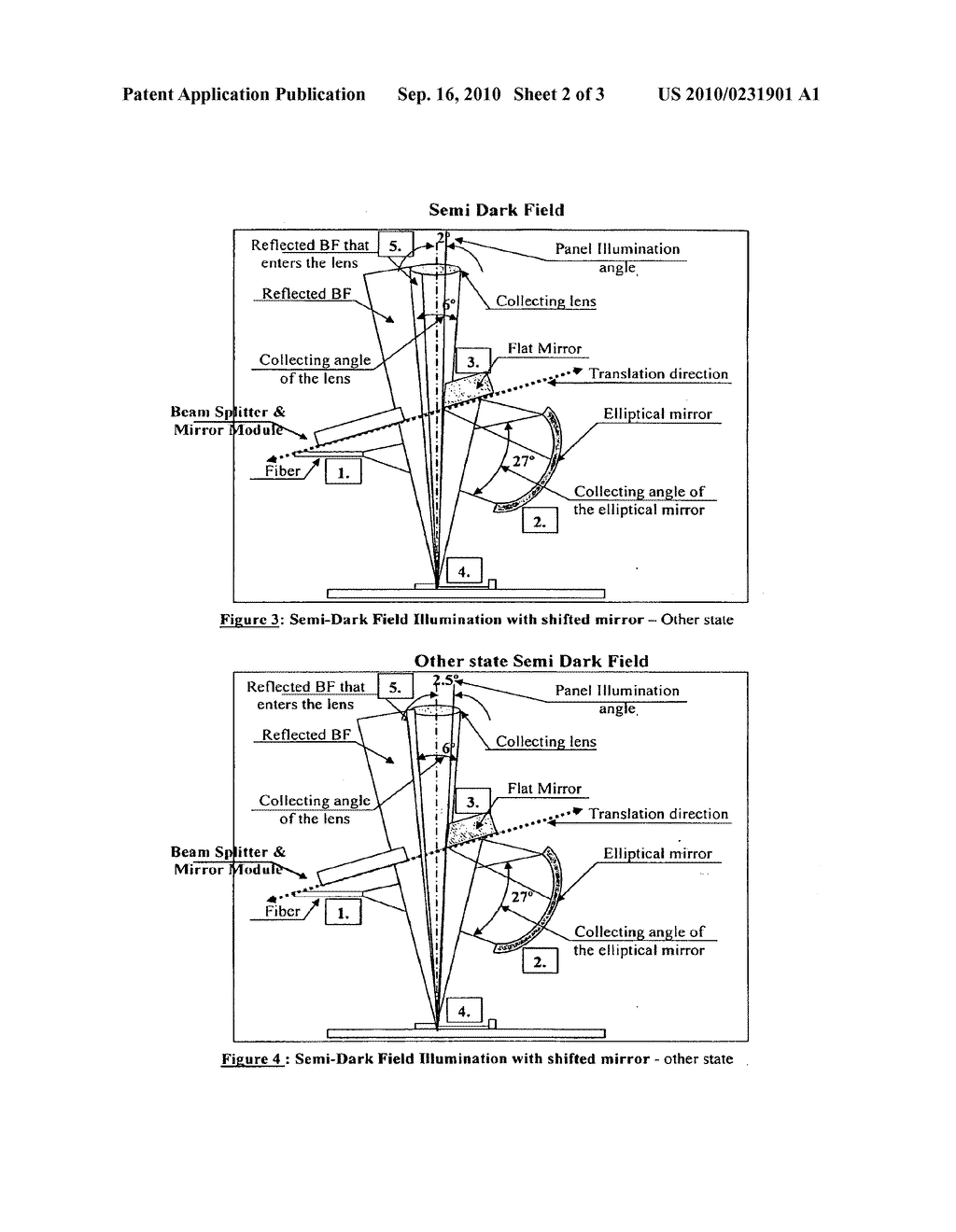 INSPECTION SYSTEM EMPLOYING ILLUMINATION THAT IS SLECTABLE OVER A CONTINUOUS RANGE ANGLES - diagram, schematic, and image 03
