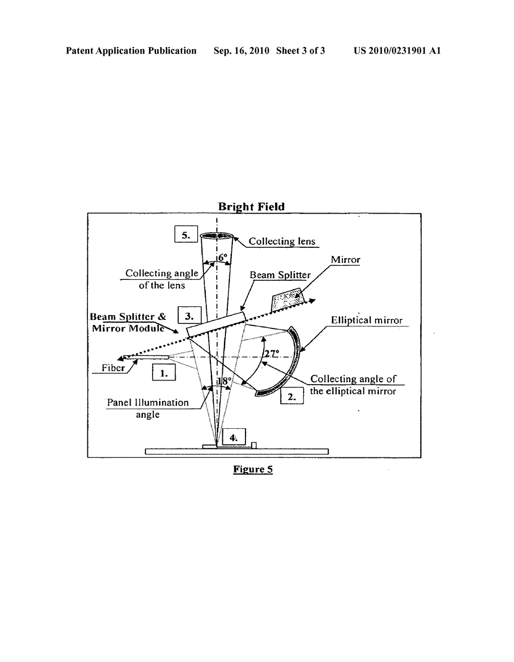 INSPECTION SYSTEM EMPLOYING ILLUMINATION THAT IS SLECTABLE OVER A CONTINUOUS RANGE ANGLES - diagram, schematic, and image 04