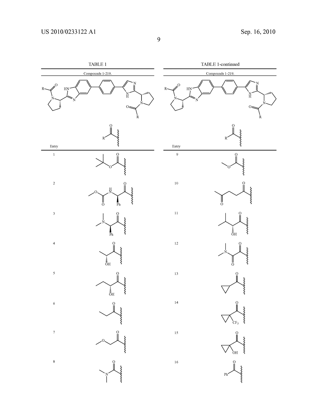 NOVEL BENZIMIDAZOLE DERIVATIVES - diagram, schematic, and image 10