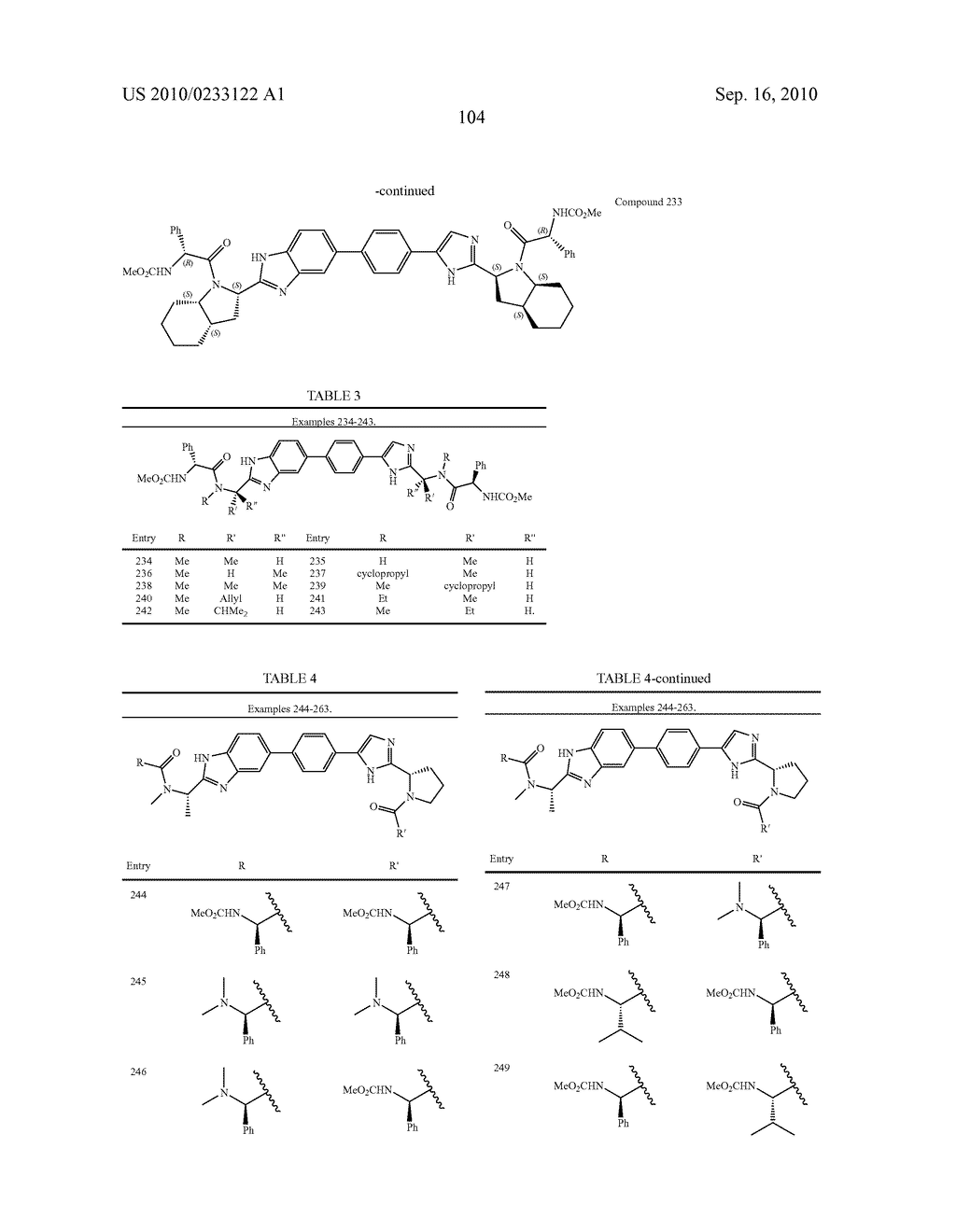NOVEL BENZIMIDAZOLE DERIVATIVES - diagram, schematic, and image 105