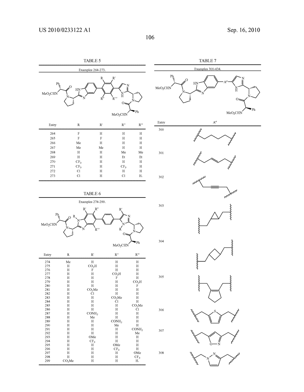 NOVEL BENZIMIDAZOLE DERIVATIVES - diagram, schematic, and image 107