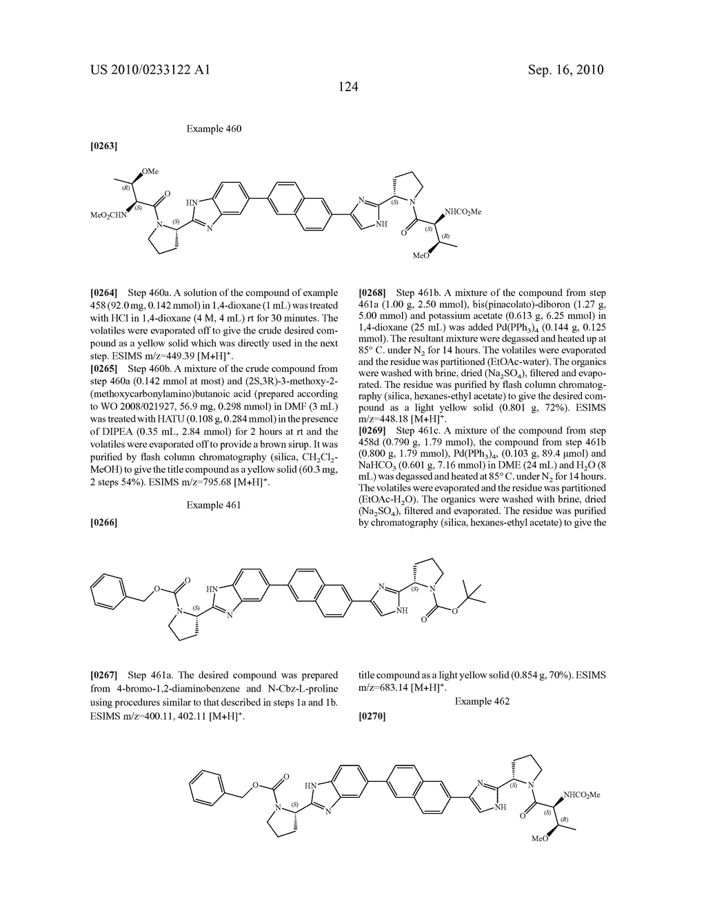 NOVEL BENZIMIDAZOLE DERIVATIVES - diagram, schematic, and image 125