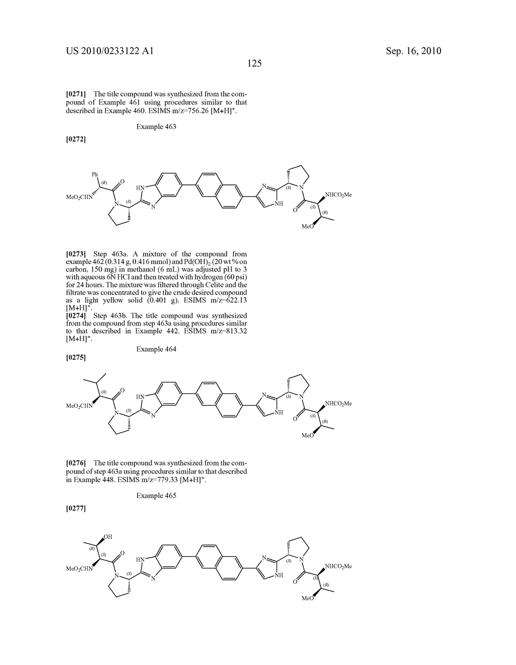 NOVEL BENZIMIDAZOLE DERIVATIVES - diagram, schematic, and image 126