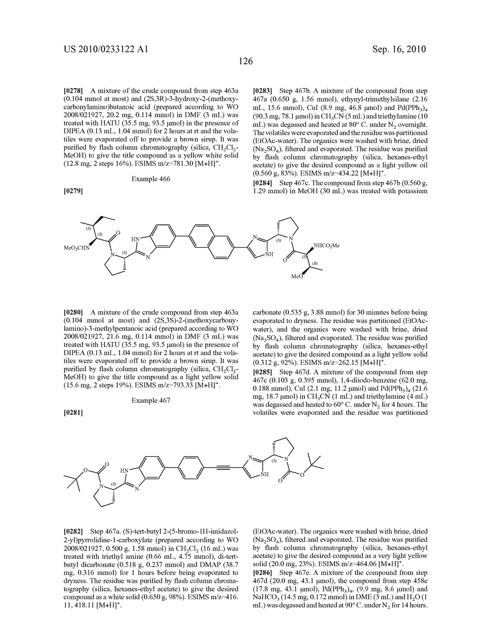 NOVEL BENZIMIDAZOLE DERIVATIVES - diagram, schematic, and image 127