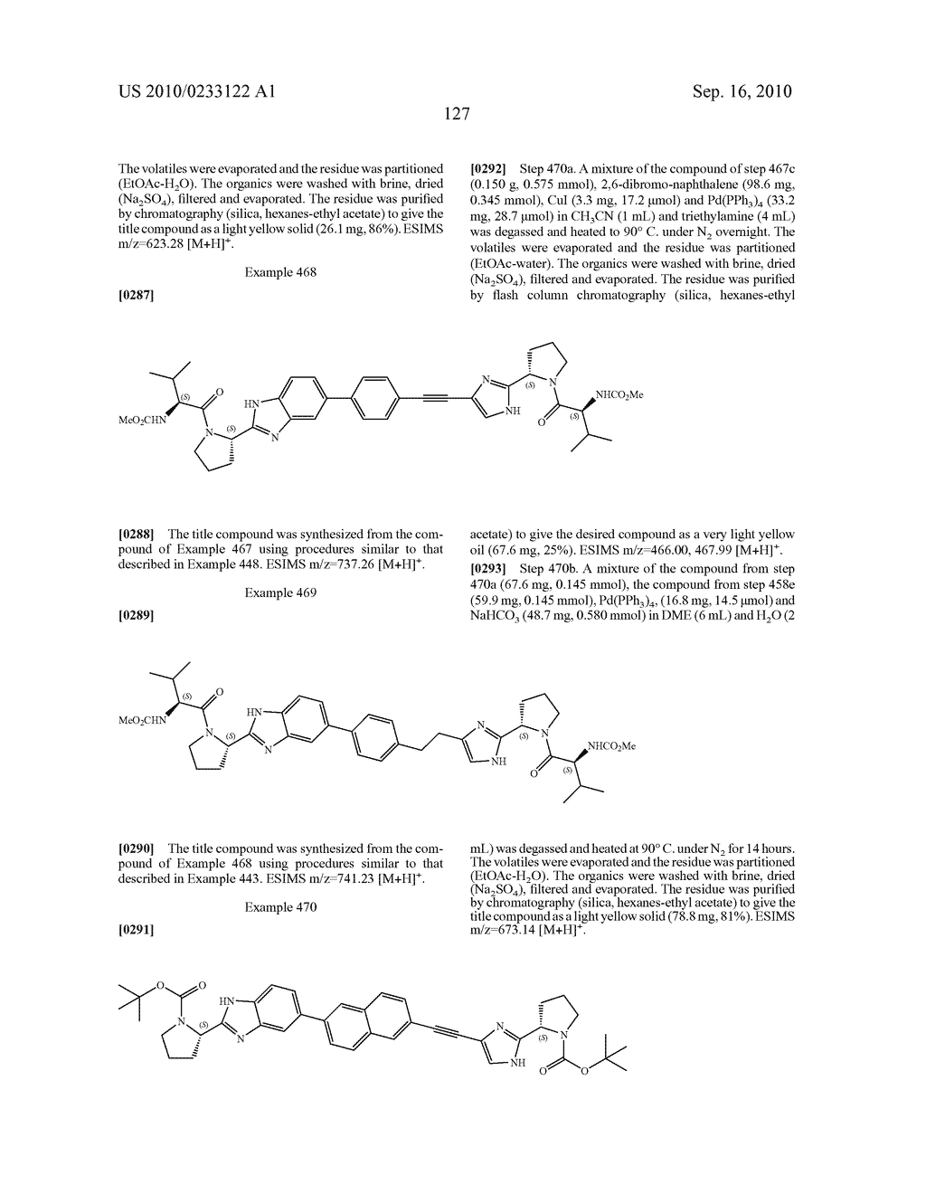 NOVEL BENZIMIDAZOLE DERIVATIVES - diagram, schematic, and image 128