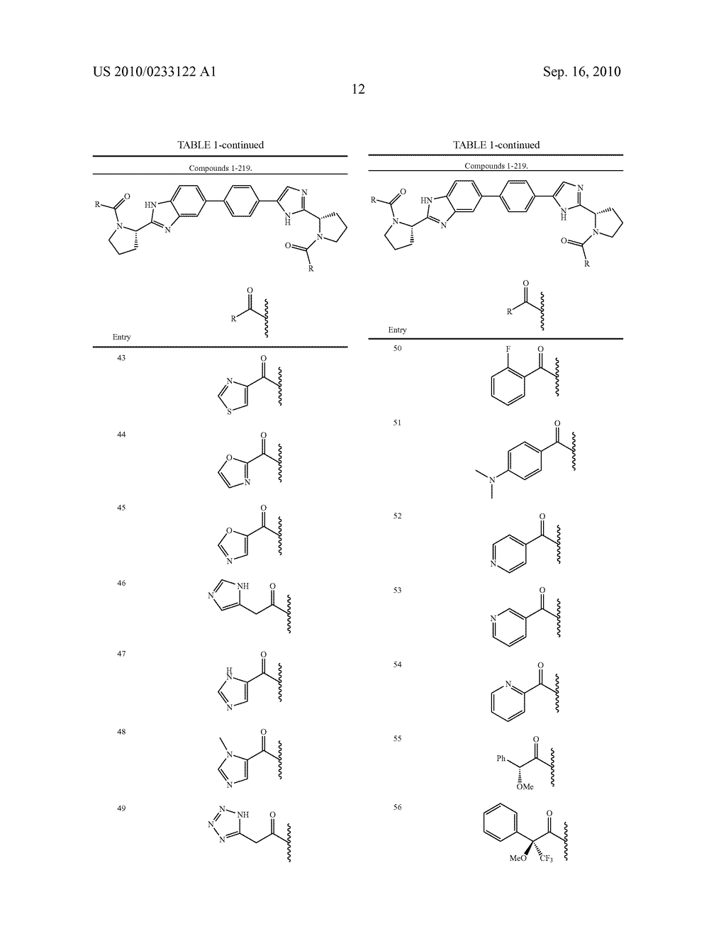 NOVEL BENZIMIDAZOLE DERIVATIVES - diagram, schematic, and image 13