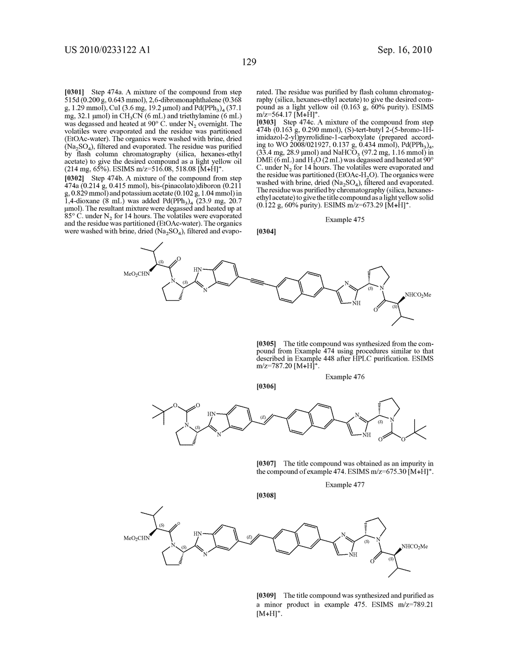NOVEL BENZIMIDAZOLE DERIVATIVES - diagram, schematic, and image 130