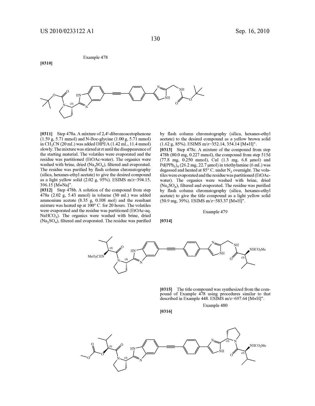 NOVEL BENZIMIDAZOLE DERIVATIVES - diagram, schematic, and image 131