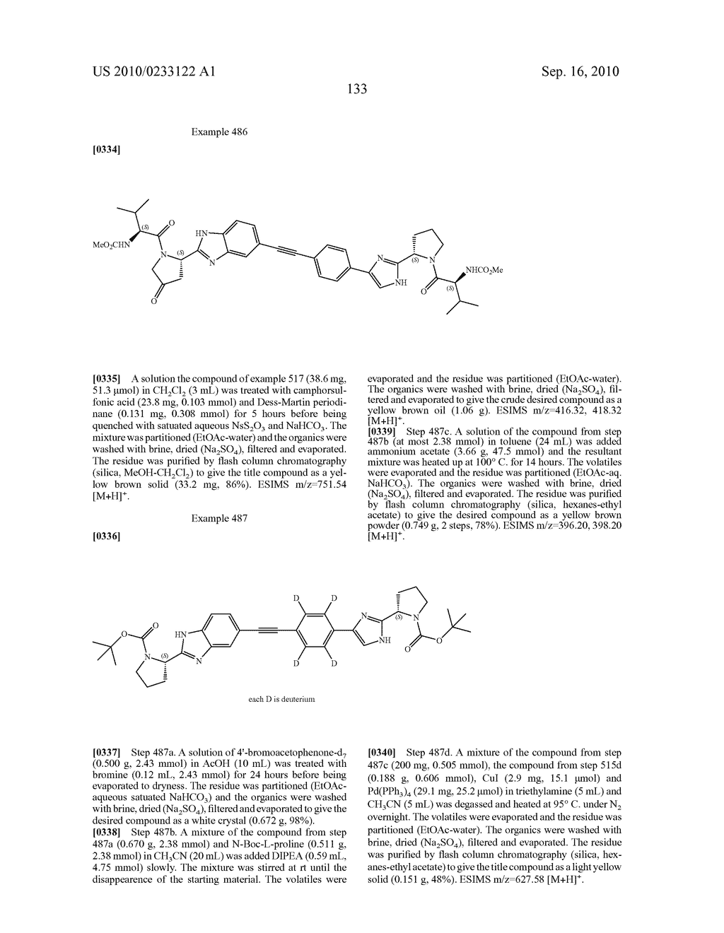 NOVEL BENZIMIDAZOLE DERIVATIVES - diagram, schematic, and image 134