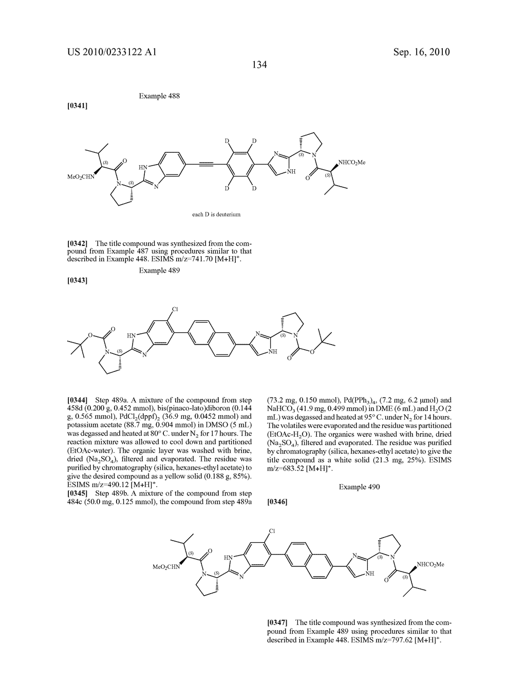 NOVEL BENZIMIDAZOLE DERIVATIVES - diagram, schematic, and image 135