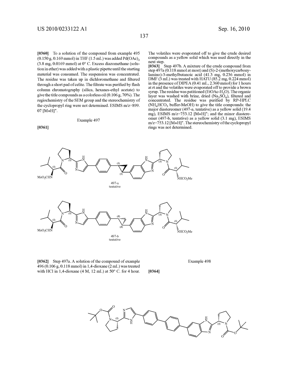 NOVEL BENZIMIDAZOLE DERIVATIVES - diagram, schematic, and image 138