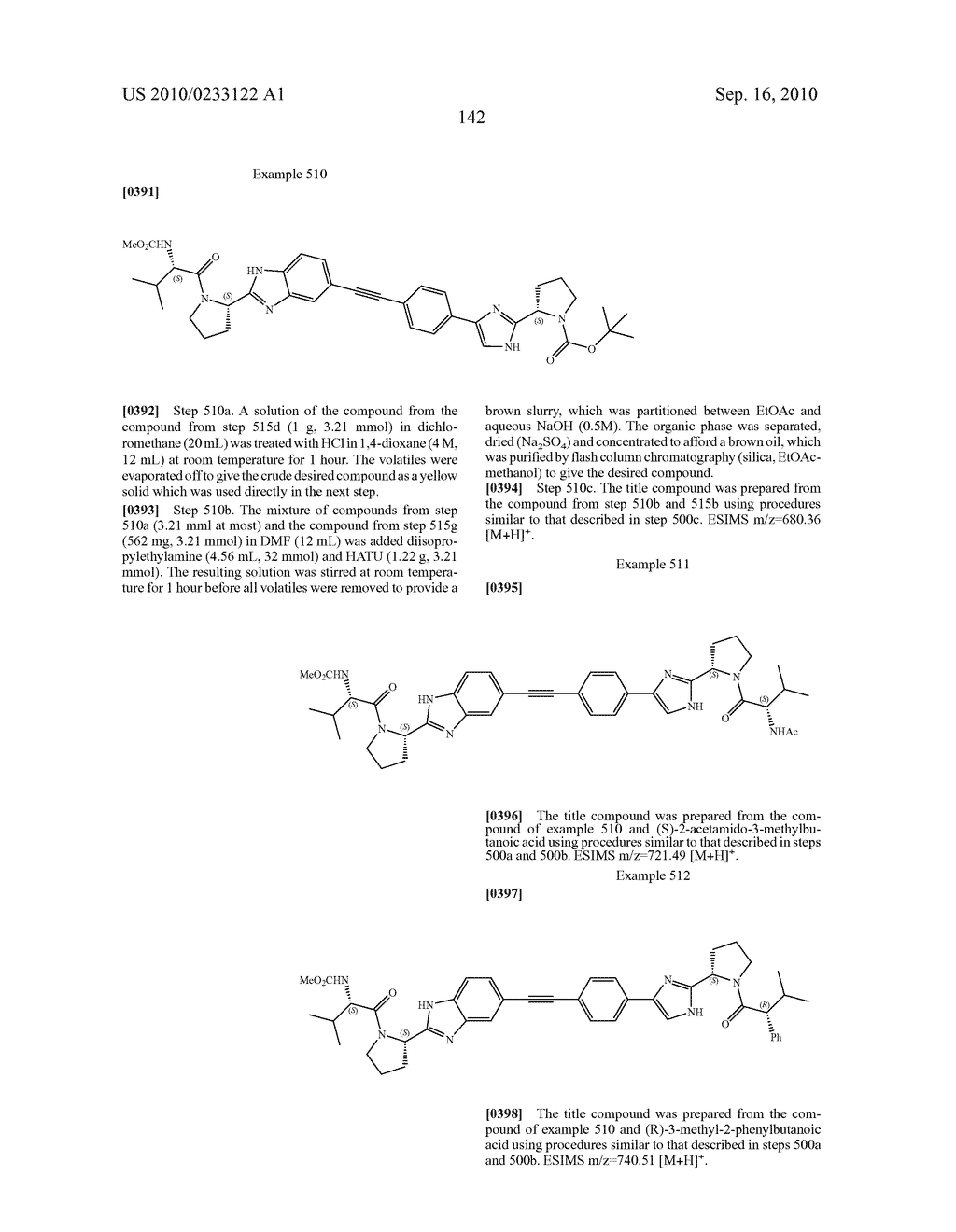NOVEL BENZIMIDAZOLE DERIVATIVES - diagram, schematic, and image 143