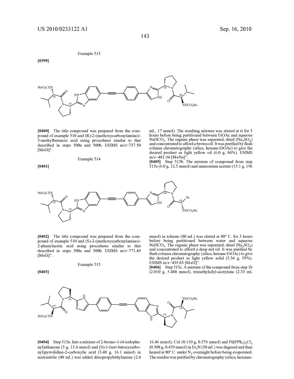 NOVEL BENZIMIDAZOLE DERIVATIVES - diagram, schematic, and image 144