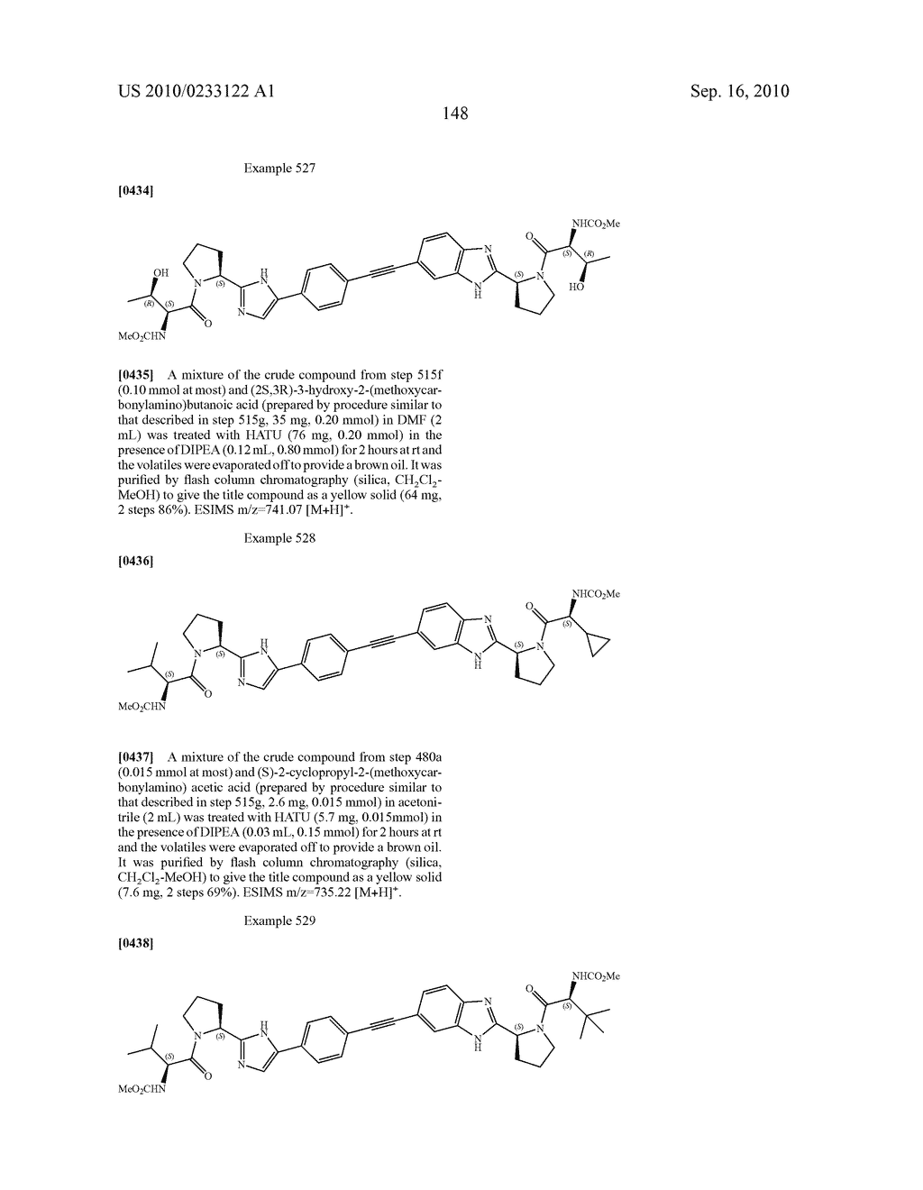 NOVEL BENZIMIDAZOLE DERIVATIVES - diagram, schematic, and image 149