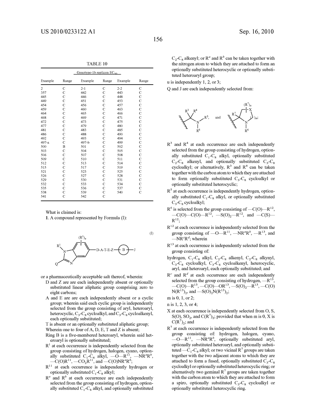 NOVEL BENZIMIDAZOLE DERIVATIVES - diagram, schematic, and image 157