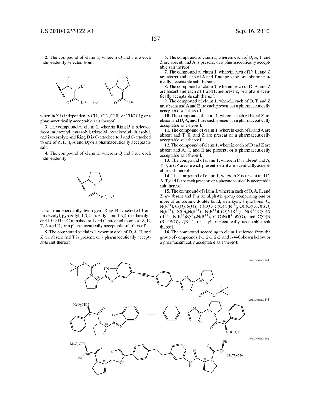 NOVEL BENZIMIDAZOLE DERIVATIVES - diagram, schematic, and image 158
