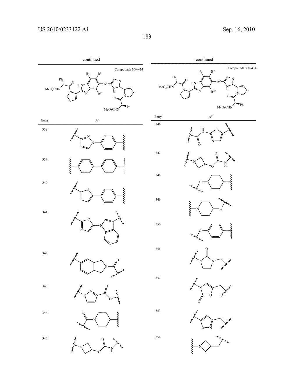 NOVEL BENZIMIDAZOLE DERIVATIVES - diagram, schematic, and image 184