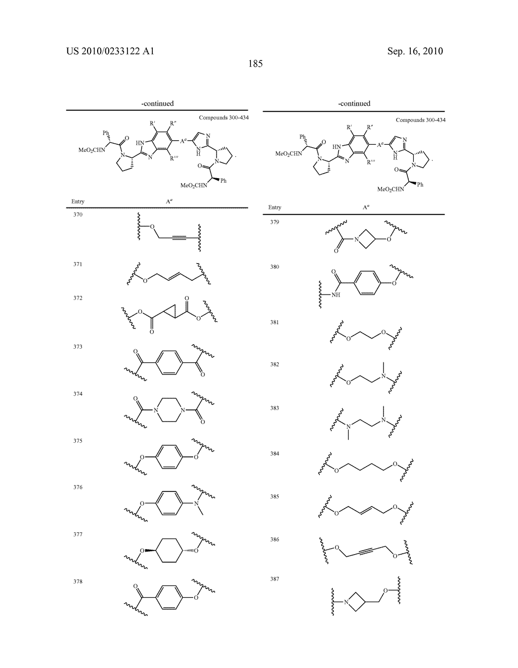 NOVEL BENZIMIDAZOLE DERIVATIVES - diagram, schematic, and image 186
