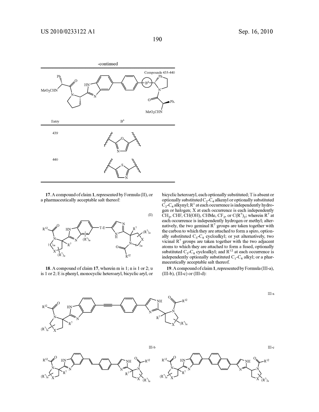 NOVEL BENZIMIDAZOLE DERIVATIVES - diagram, schematic, and image 191