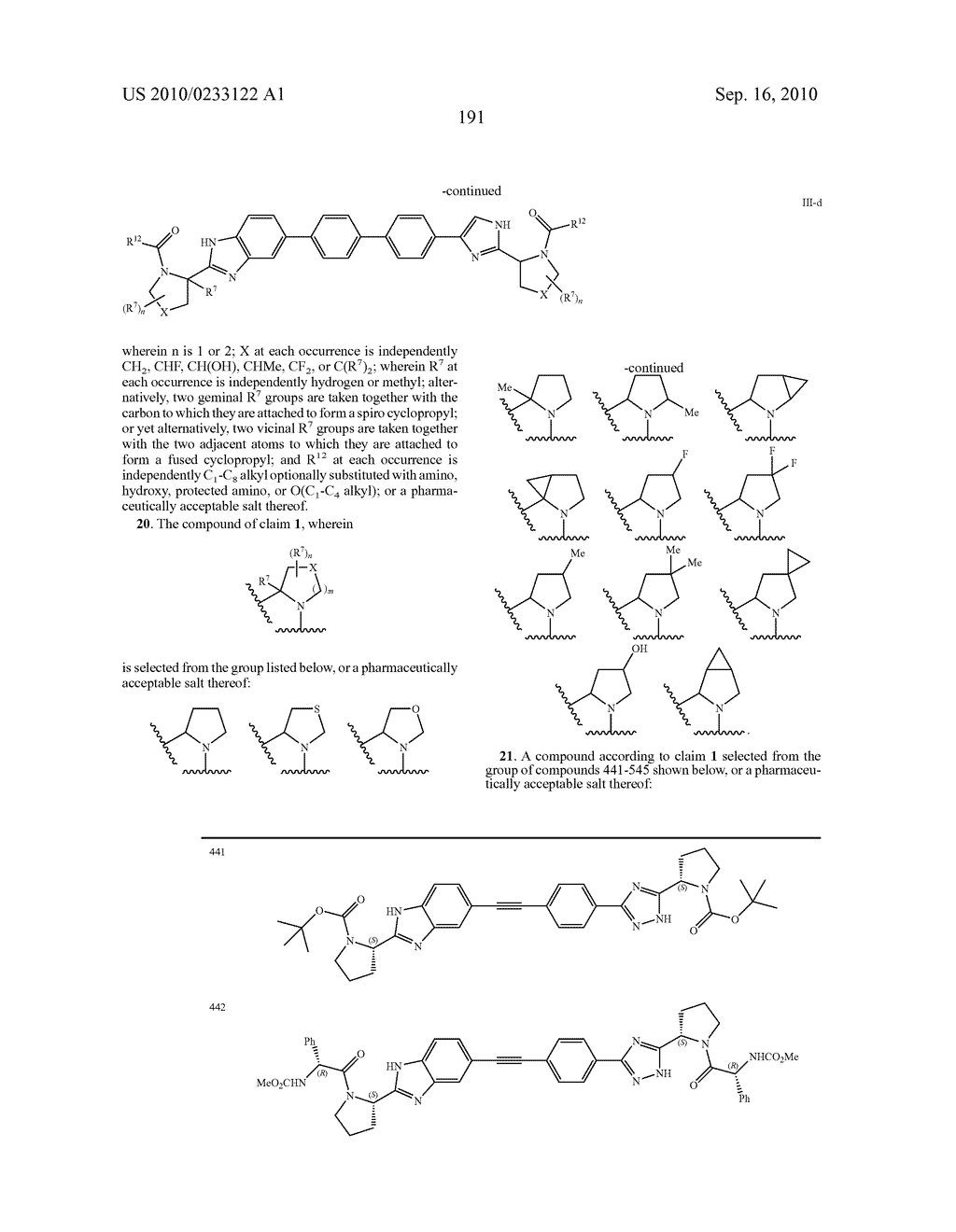 NOVEL BENZIMIDAZOLE DERIVATIVES - diagram, schematic, and image 192