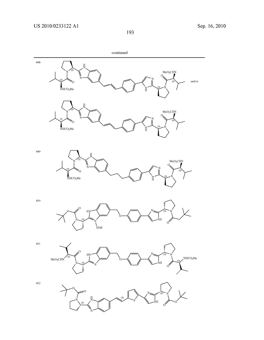 NOVEL BENZIMIDAZOLE DERIVATIVES - diagram, schematic, and image 194