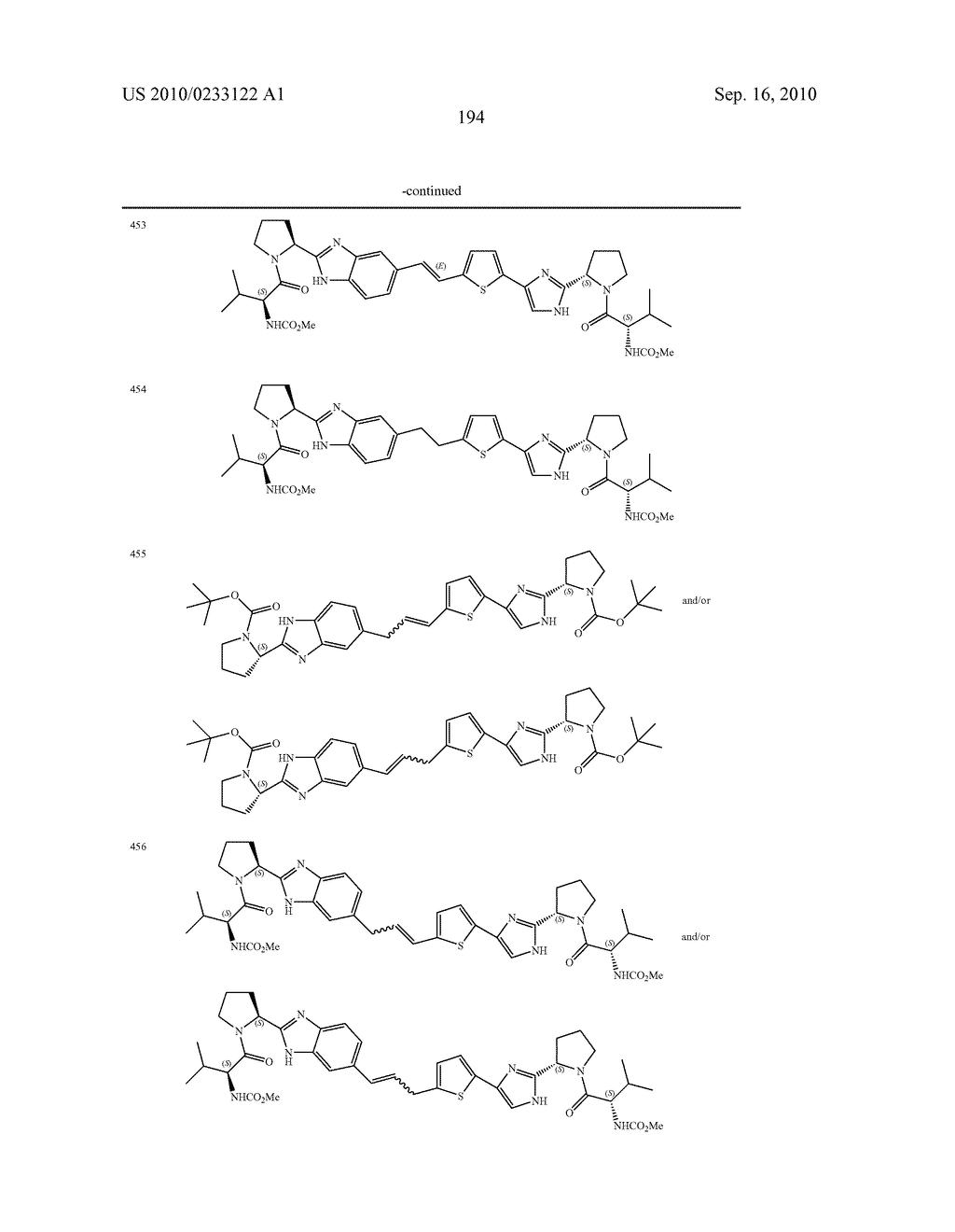 NOVEL BENZIMIDAZOLE DERIVATIVES - diagram, schematic, and image 195