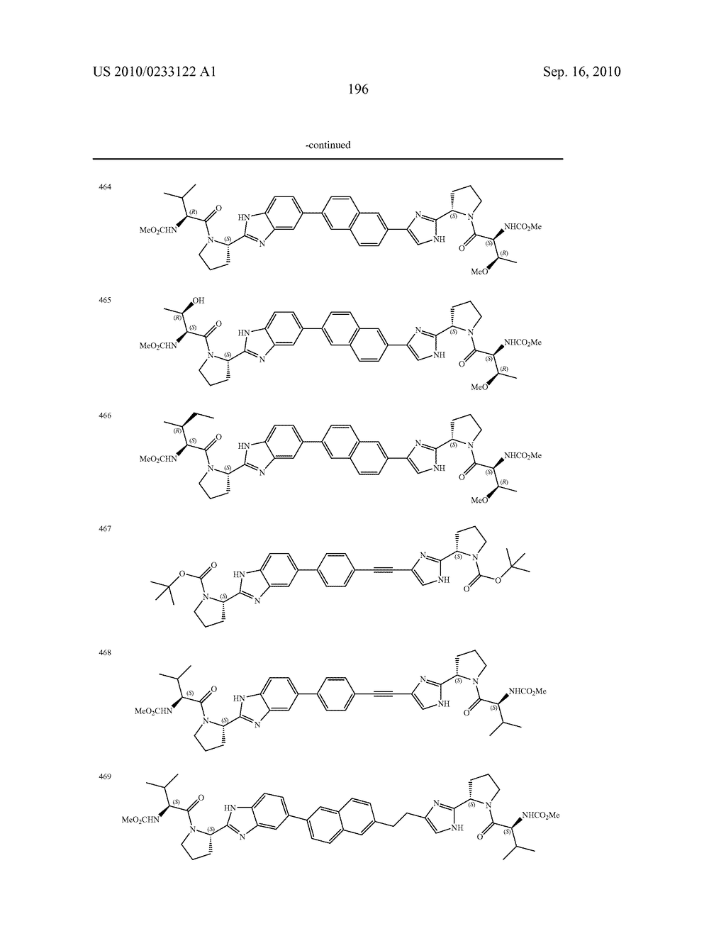 NOVEL BENZIMIDAZOLE DERIVATIVES - diagram, schematic, and image 197