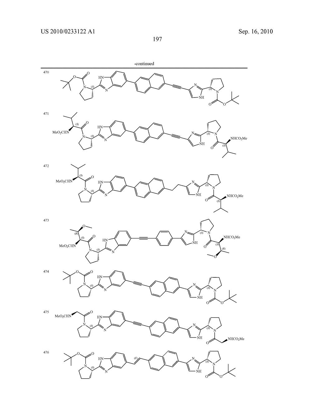 NOVEL BENZIMIDAZOLE DERIVATIVES - diagram, schematic, and image 198