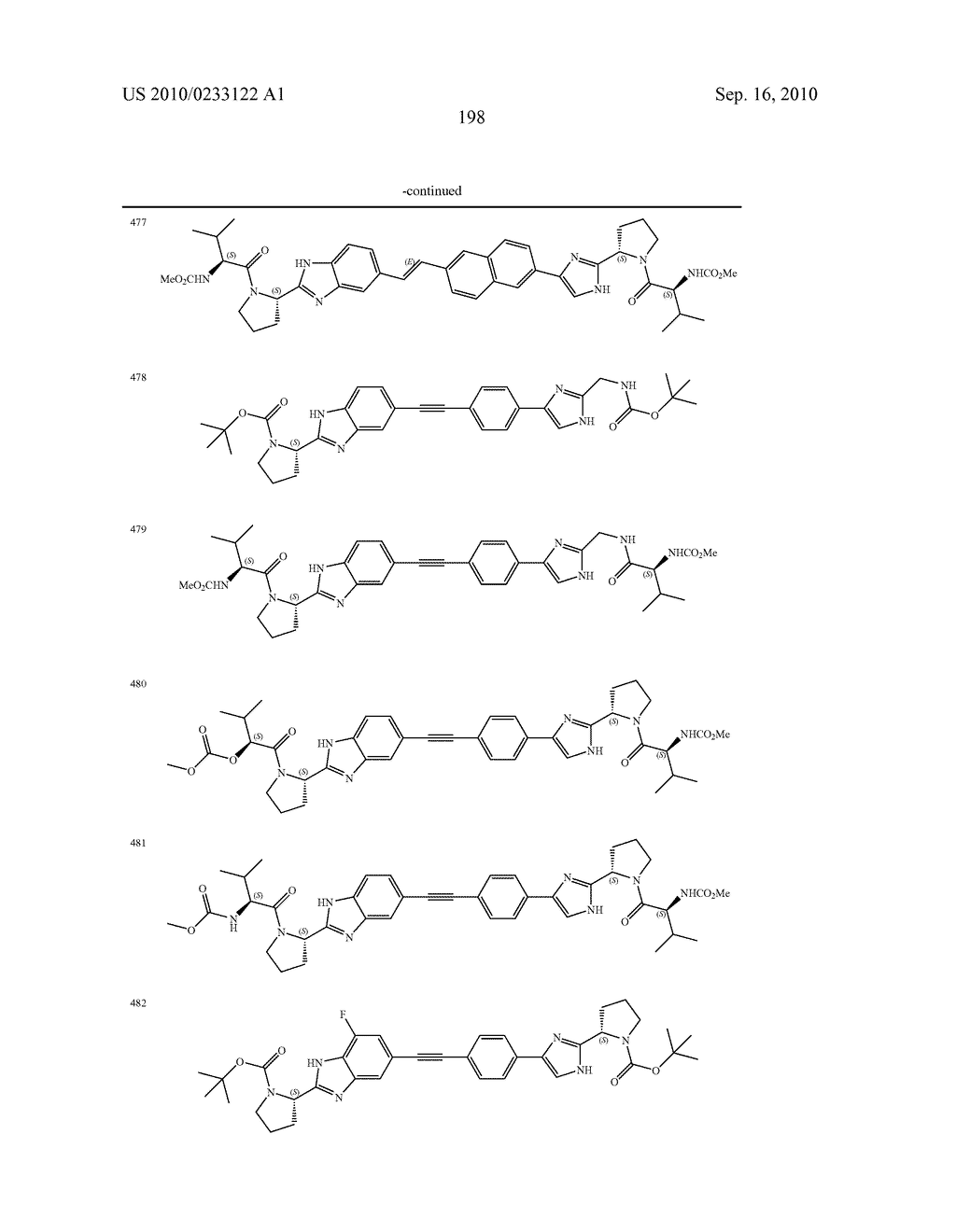 NOVEL BENZIMIDAZOLE DERIVATIVES - diagram, schematic, and image 199