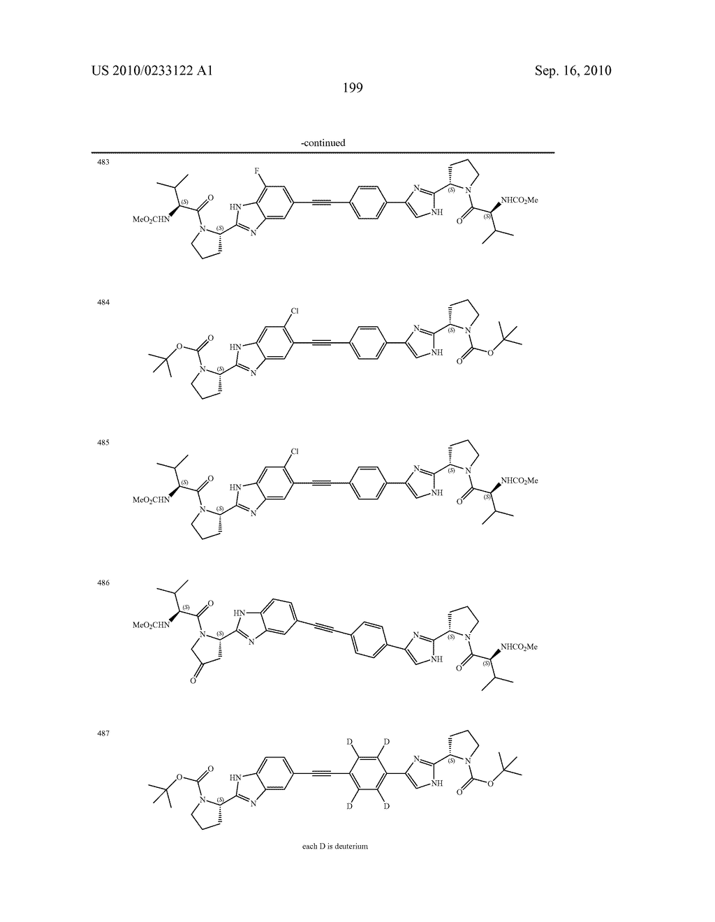 NOVEL BENZIMIDAZOLE DERIVATIVES - diagram, schematic, and image 200