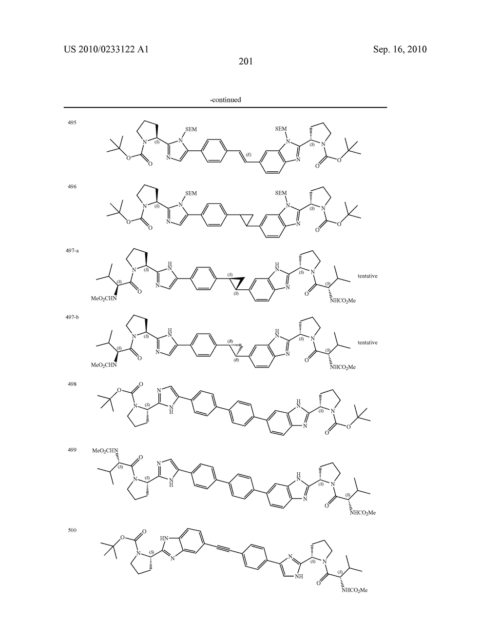 NOVEL BENZIMIDAZOLE DERIVATIVES - diagram, schematic, and image 202