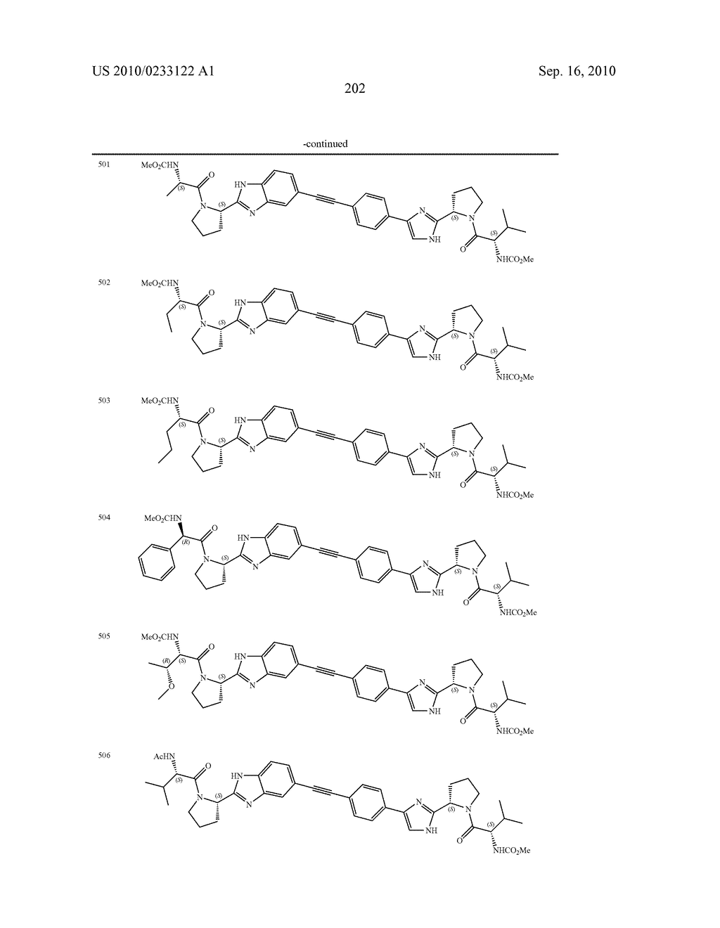 NOVEL BENZIMIDAZOLE DERIVATIVES - diagram, schematic, and image 203