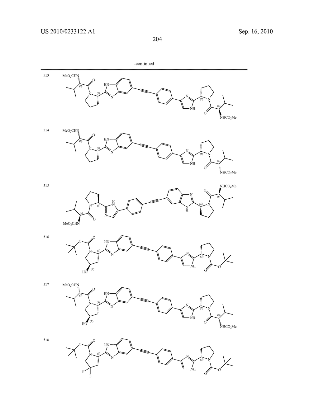 NOVEL BENZIMIDAZOLE DERIVATIVES - diagram, schematic, and image 205
