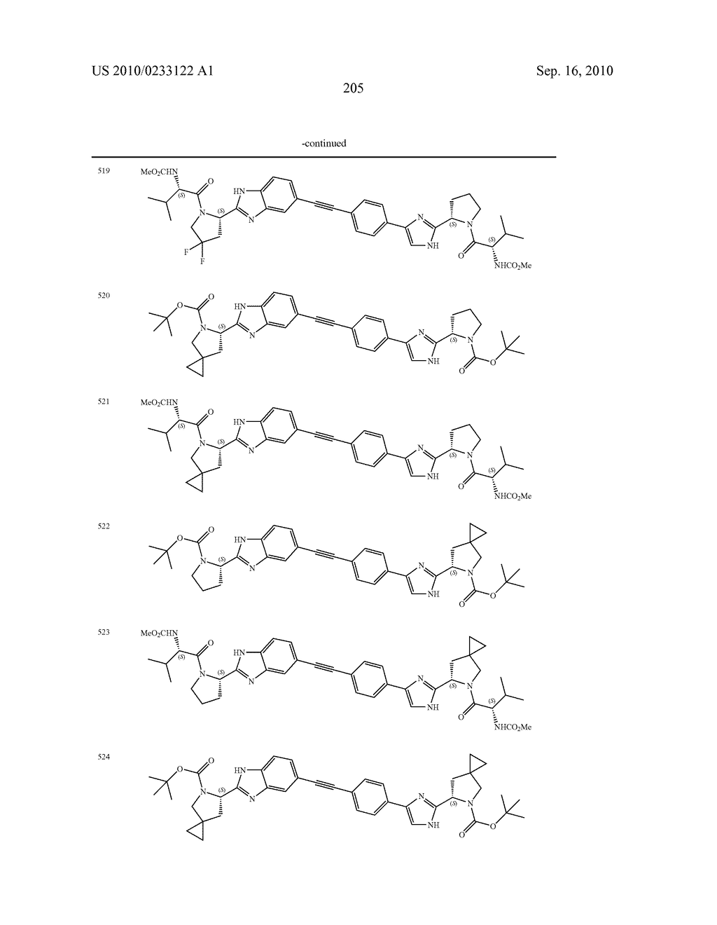 NOVEL BENZIMIDAZOLE DERIVATIVES - diagram, schematic, and image 206