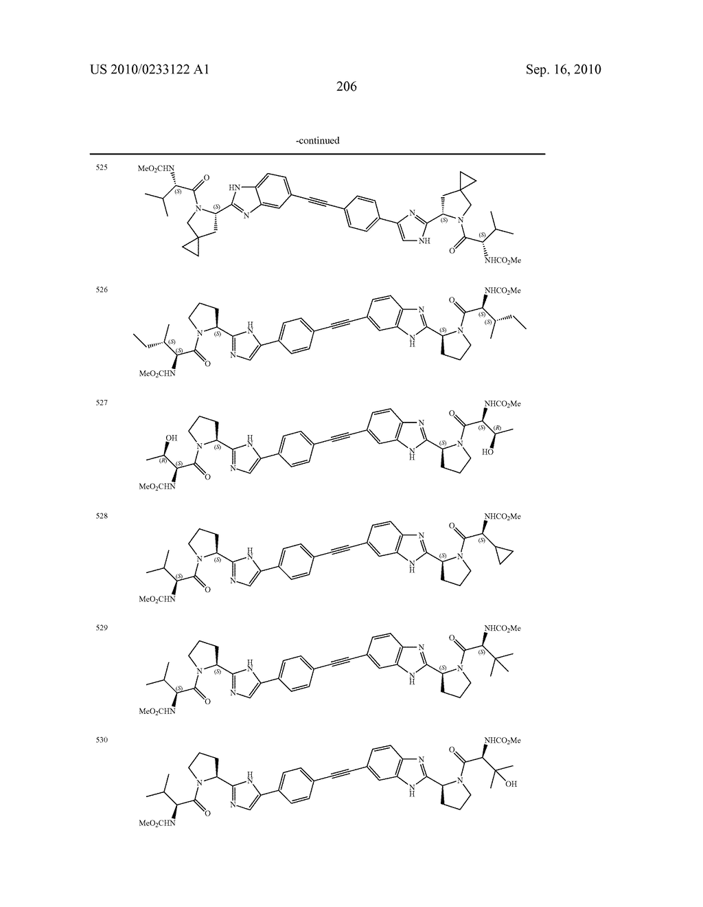 NOVEL BENZIMIDAZOLE DERIVATIVES - diagram, schematic, and image 207