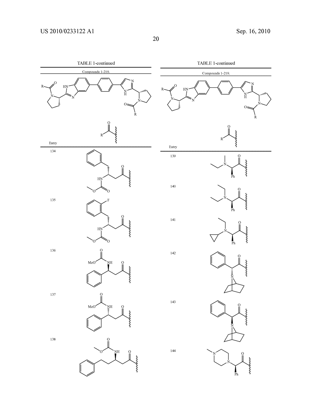 NOVEL BENZIMIDAZOLE DERIVATIVES - diagram, schematic, and image 21
