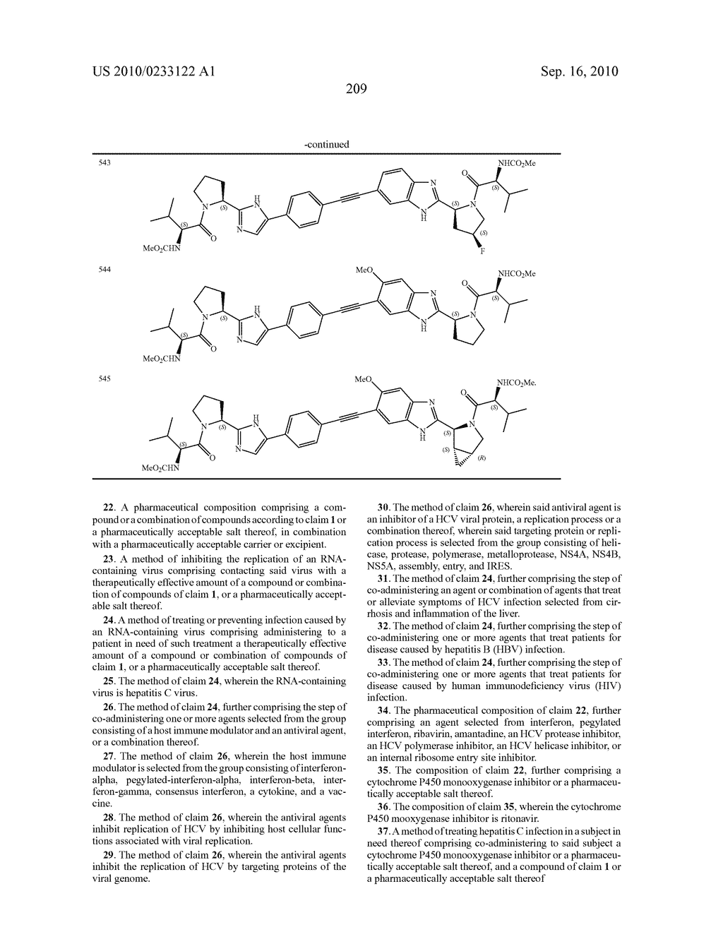 NOVEL BENZIMIDAZOLE DERIVATIVES - diagram, schematic, and image 210