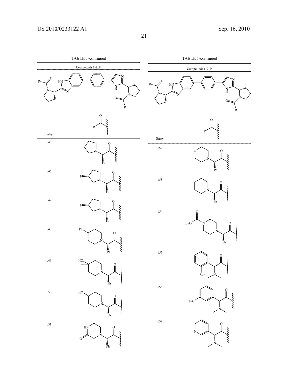 NOVEL BENZIMIDAZOLE DERIVATIVES - diagram, schematic, and image 22