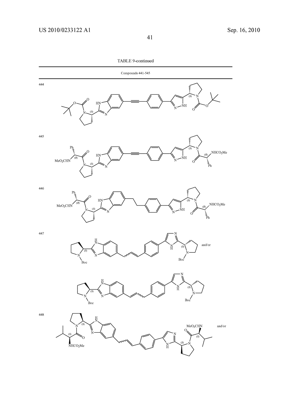 NOVEL BENZIMIDAZOLE DERIVATIVES - diagram, schematic, and image 42