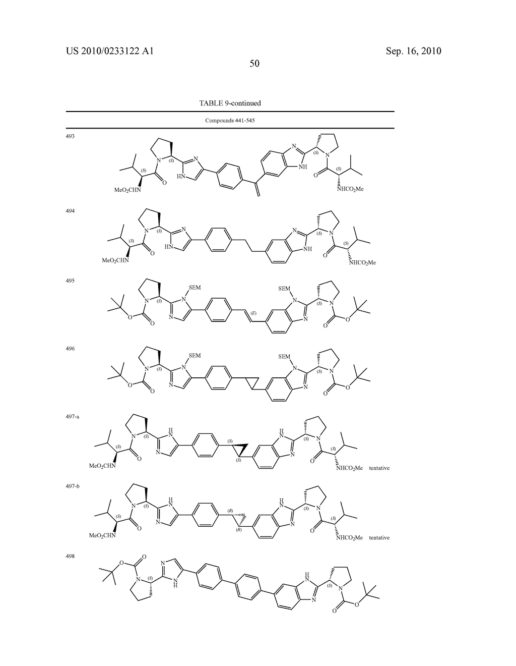 NOVEL BENZIMIDAZOLE DERIVATIVES - diagram, schematic, and image 51